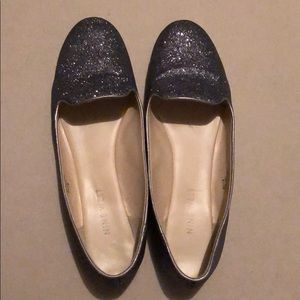 Nine West loafers silver size 6.5